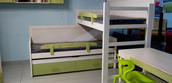 חדר ילדים מיטת קומותיים
