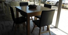 פינות אוכל שולחן + כסאות דגם סושי
