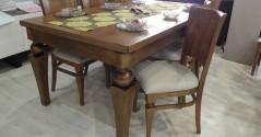 פינות אוכל שולחן וכסאות דגם LOTOS
